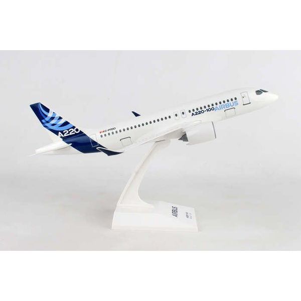 SkyMarks A220-100 (CS100) Airbus House Livery 1:100