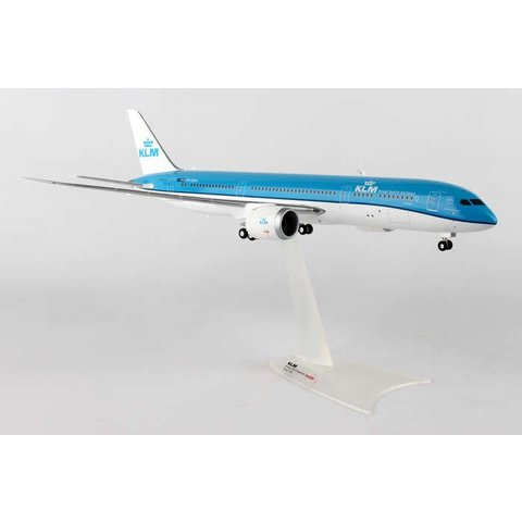 Herpa KLM 787-9 1:200 with stand