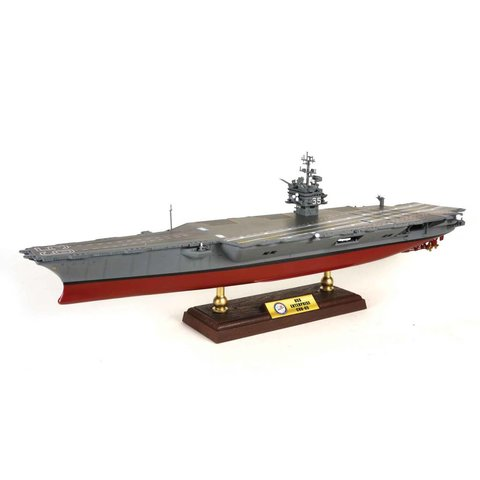 USS Enterprise CVN65 Operation Enduring Freedom 2001 1:700 with stand