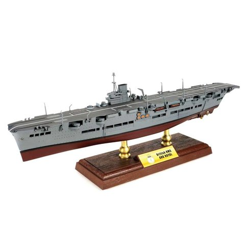 HMS Ark Royal Royal Navy 1:700 with stand