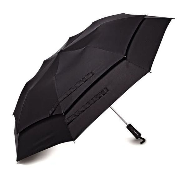 Samsonite Windguard Auto Open Umbrella Black