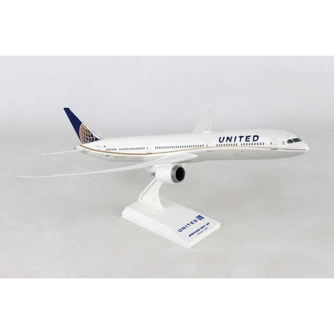 B787-10 Dreamliner United 2010 livery 1:200 with stand