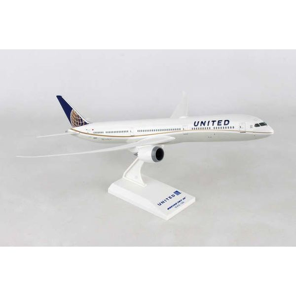 SkyMarks B787-10 Dreamliner United 2010 livery 1:200 with stand