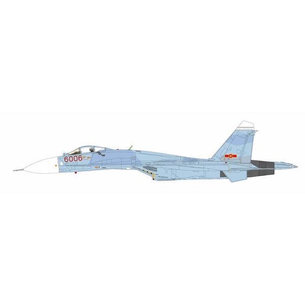 Hobby Master Su27 Flanker B RED6006 370th Fighter Division Vietnamese Air Force Phan Rang AB 1:72