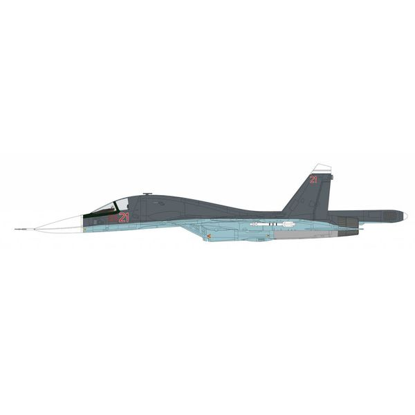 Hobby Master Su34 Fullback Fighter Bomber RED21 Russian Air Force Syria 2015 1:72