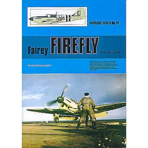 Fairey Firefly: MkI - UMk9: Warpaint #28 softcover