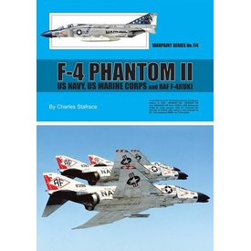 Warpaint F4 Phantom II: US Navy US Marine Corps and RAF F4J: Warpaint #114 softcover