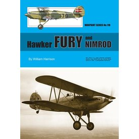 Warpaint Hawker Fury & Nimrod: Warpaint #116 softcover