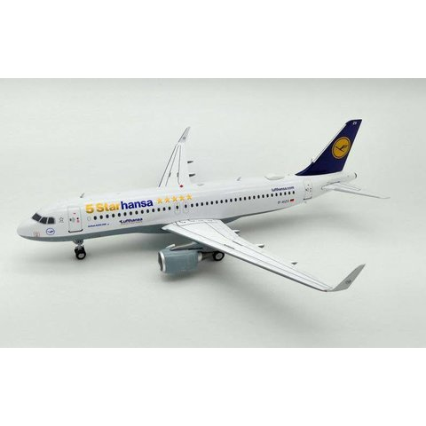 A320S Lufthansa 5 Starhansa D-AIZX sharkets 1:200 With Stand