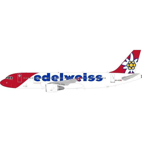 JFOX A320 Edelweiss Air HB-IHZ 1:200 With Stand