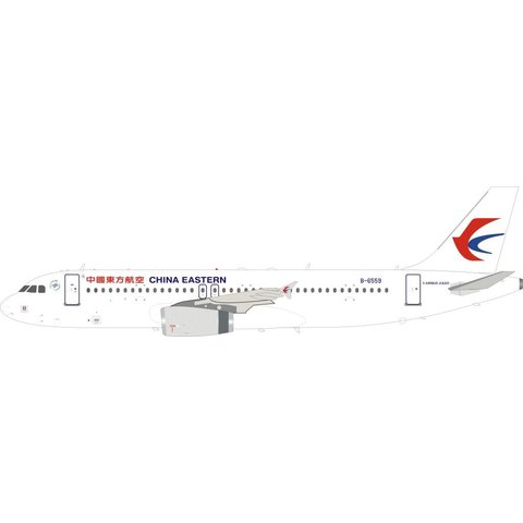 A320 China Eastern B-6559 1:200 with stand