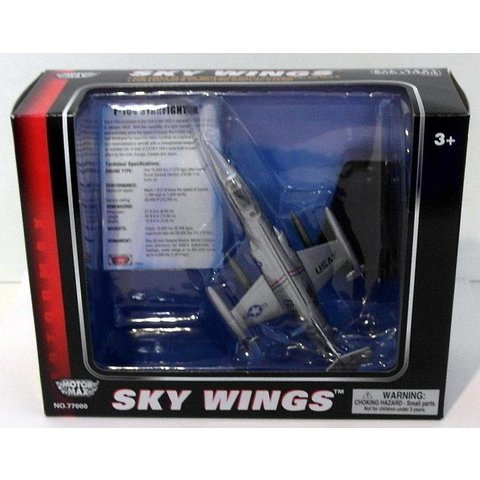 F104 STARFIGHTER USAF SILVER 1:100