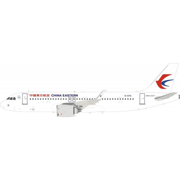 InFlight A320neo China Eastern B-1076 1:200 with stand