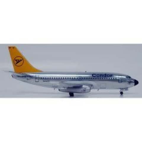 B737-200 Condor Polished 1:200 with stand