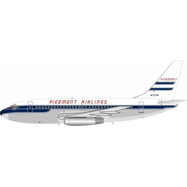 InFlight B737-200 Piedmont Airlines N737N 1:200 with stand