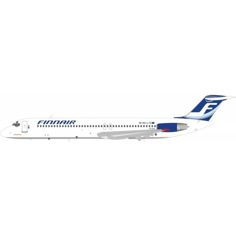 DC9-50 Finnair OH-LYS 1:200 with stand