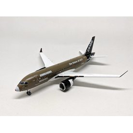 JC Wings CS100 CSeries Bombardier House Primer FTV2 C-GWYD The Future of LCY 1:200 with stand