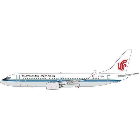 B737-800W Beijing Airlines B-5486 1:400