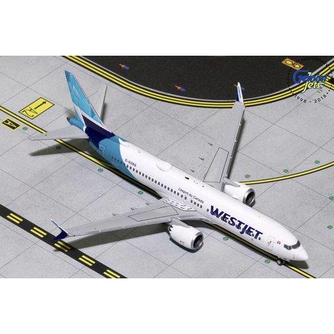 B737 MAX8 WestJet new livery 2018 C-GZSG 1:400