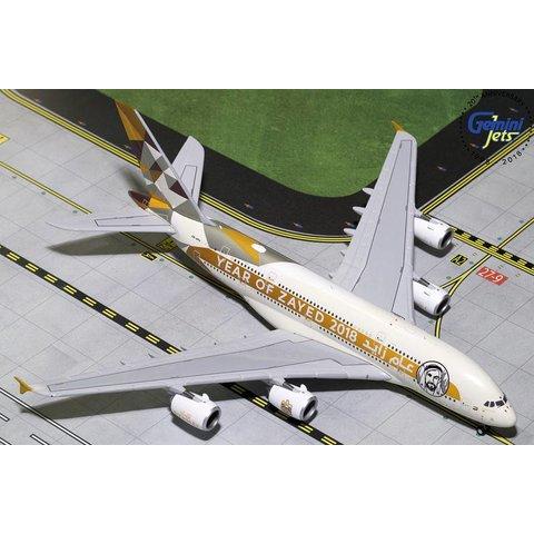 A380-800 Etihad N/C 2014 Year Zayed A6-APH 1:400
