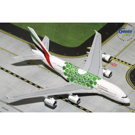 Gemini Jets A380-800 Emirates EXPO 2020 green livery 1:400