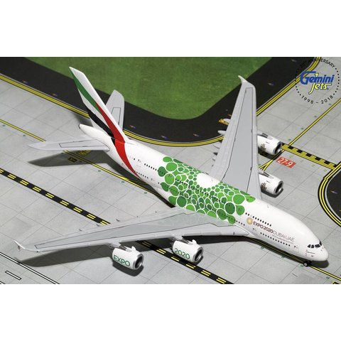 A380-800 Emirates EXPO 2020 green livery 1:400 (20th release)