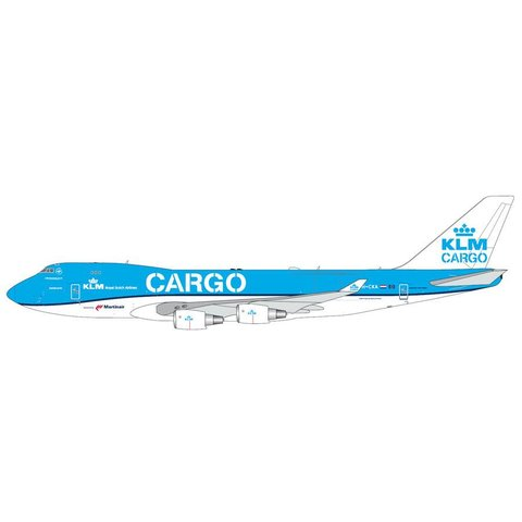 B747-400F KLM CARGO new livery 2014 PH-CKA 1:400