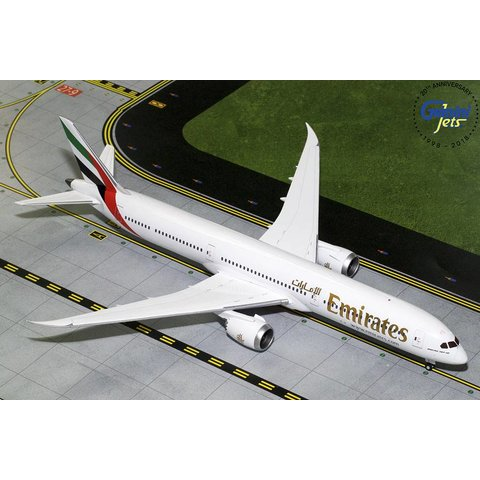 B787-10 Dreamliner Emirates 1:200 with stand (no registration)