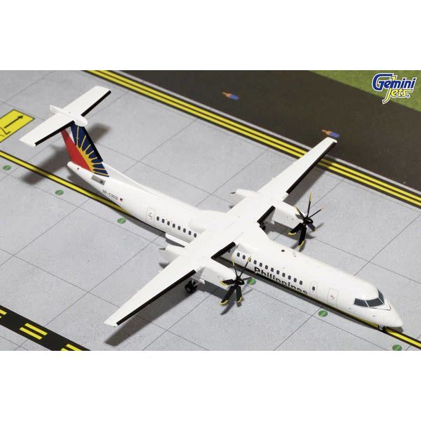 Gemini Jets Dash8 Q400 Philippines RP-C3031 1:200 with stand