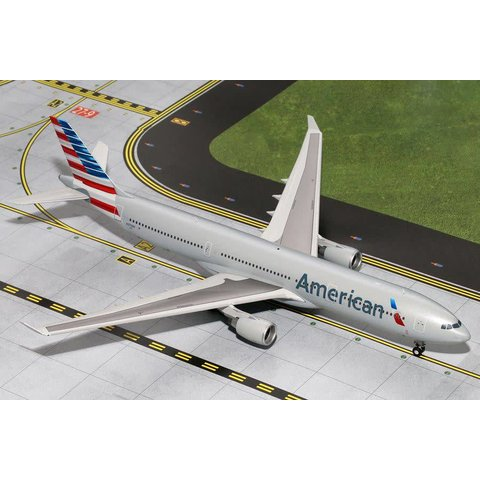 A330-300 American Airlines 2013 livery N270AY 1:200 with stand