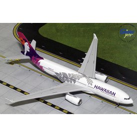 Gemini Jets A330-200 Hawaiian New Livery 2016 N380HA 1:200 with stand (3rd)**o/p**