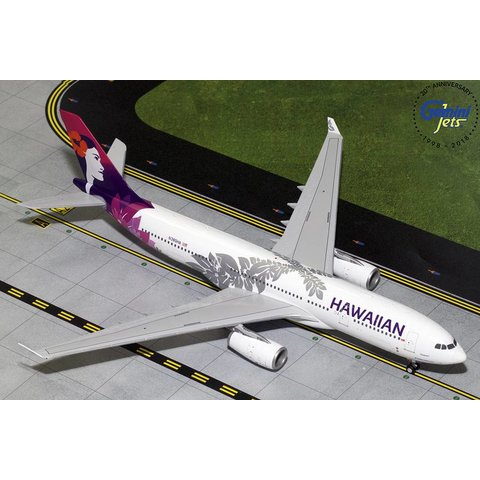A330-200 Hawaiian New Livery 2016 N380HA 1:200 with stand (3rd)**o/p**