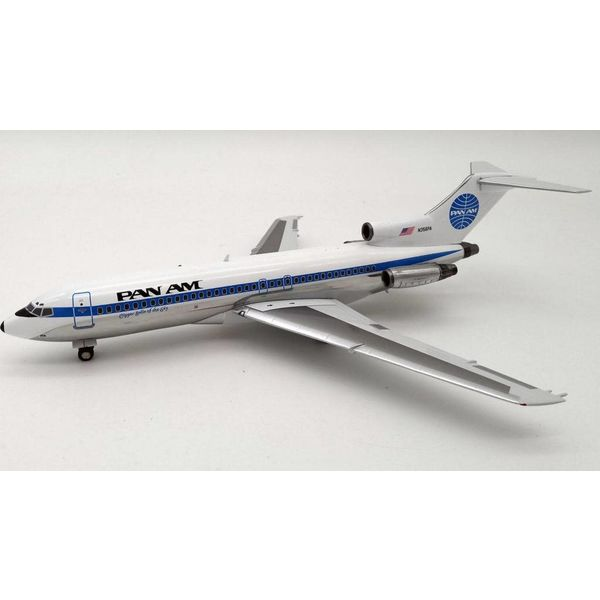 InFlight B727-100 Pan Am Clipper Belle of the Sky N356PA 1:200 with stand