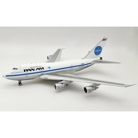 InFlight B747SP Pan Am N533PA Clipper New Horizons 1:200 polished with stand