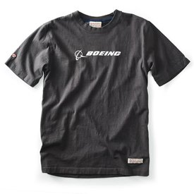 Red Canoe Brands Boeing Tee, Slate