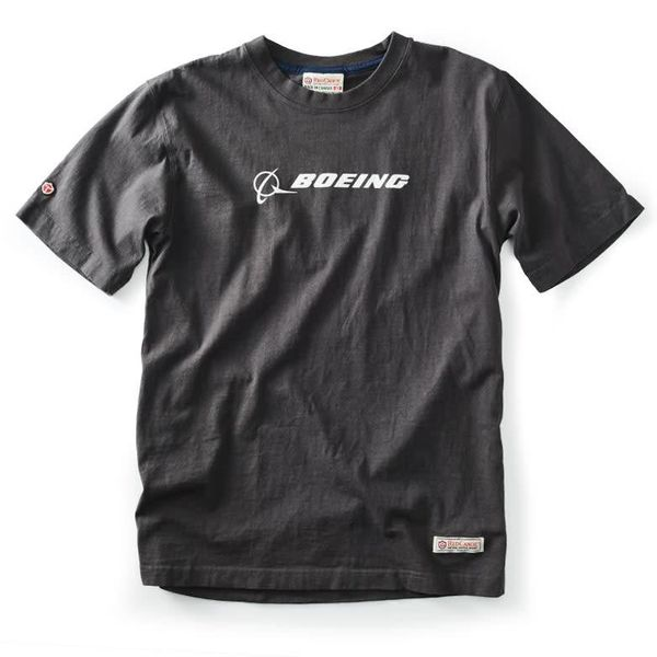 Red Canoe Brands Boeing T-shirt Slate