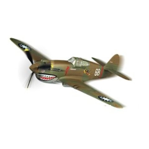 P40B/C Warhawk Flying Tigers AVG Snap Quick Kit 1:72 Prepainted