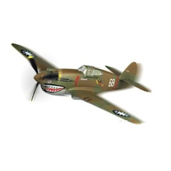 Squadron P40B/C Warhawk Flying Tigers AVG Snap Quick Kit 1:72 Prepainted