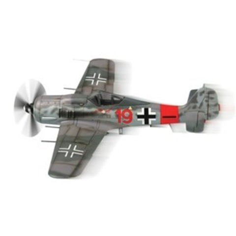 Focke Wulf FW190A8 RED 19 Luftwaffe Snap Quick Kits 1:72 Prepainted