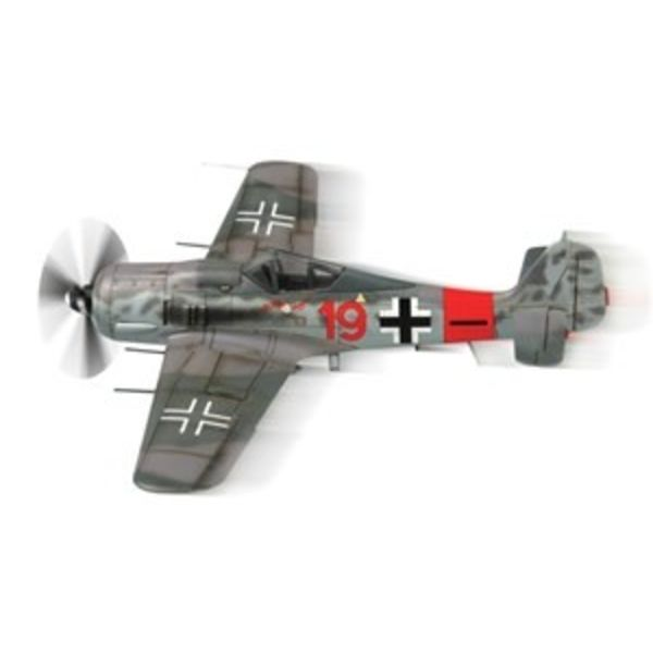 Squadron Focke Wulf FW190A8 RED 19 Luftwaffe Snap Quick Kits 1:72 Prepainted