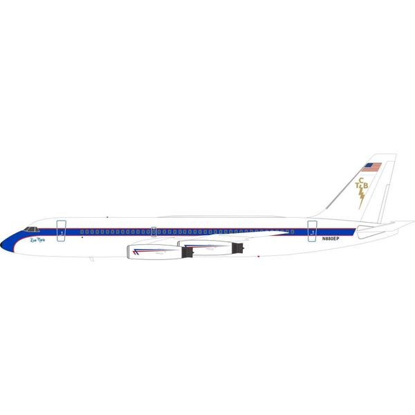 InFlight Convair CV880 N880EP Lisa Marie + Lockheed L1329 JetStar N777EP Hound Dog TCB 1:200 twin pack
