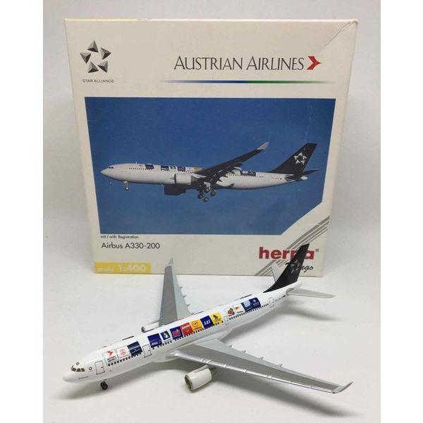 Herpa A330-200 AUSTRIAN Star Alliance (original) OE-LAO 1:400**O/P**