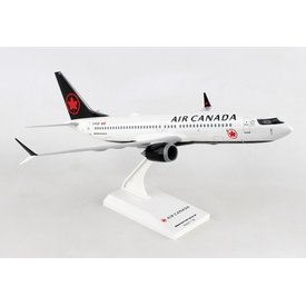 SkyMarks B737 MAX8 Air Canada 2017 Livery 1:130 with stand