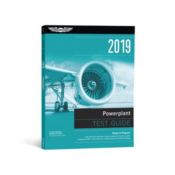 ASA - Aviation Supplies & Academics Powerplant Test Guide 2019 softcover