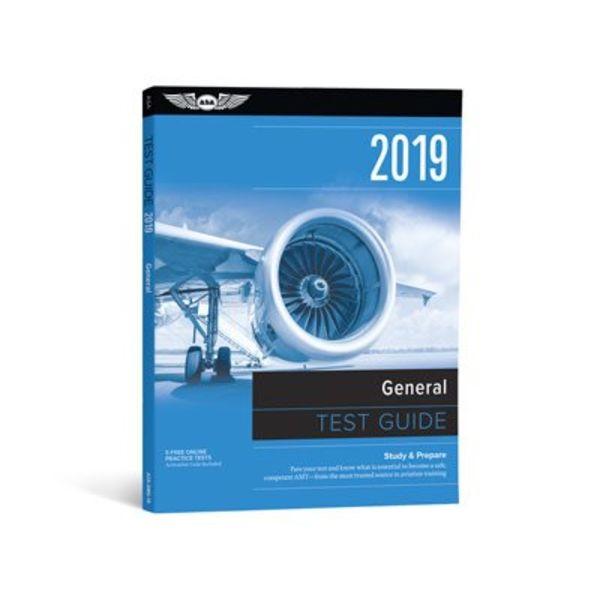 ASA - Aviation Supplies & Academics General Test Prep 2019 softcover