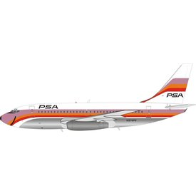 InFlight B737-200 PSA N379PS 1:200 with stand