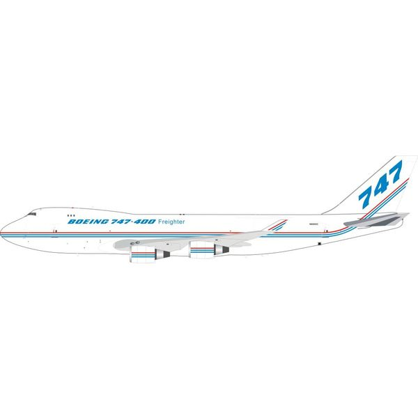InFlight B747-400F / SCD Boeing House Livery N6005C 1:200 With Stand