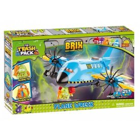Cobi Plane Wreck Cobi Trash Pack 257 pieces