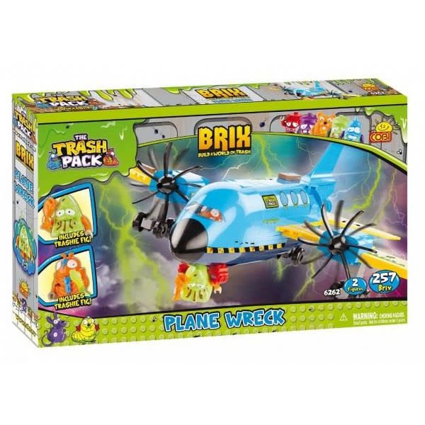 Cobi Plane Wreck Cobi Trash Pack 257 pieces