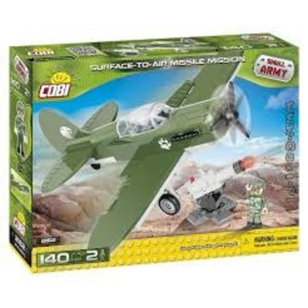 Cobi Surface to Air Missile Mission and Aircraft Small Army Cobi (140 pieces)